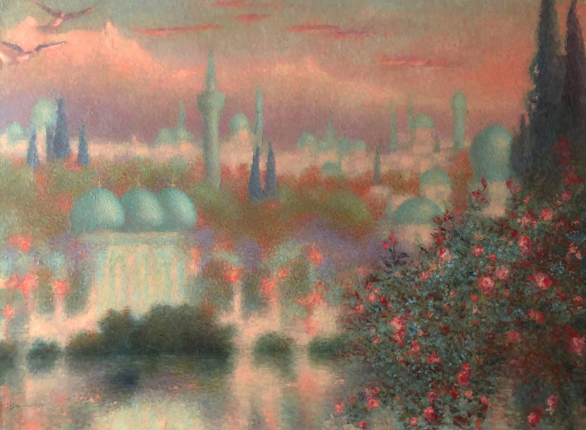 Lévy-Dhurmer, Lucien ~ Les Roses d'Ispahan